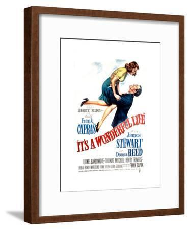 It's a Wonderful Life, Donna Reed, James Stewart, 1946--Framed Photo