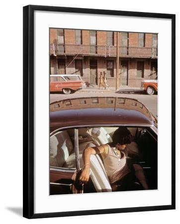1970s America A Chicano Teenager In The Barrio Area Of El Paso Texas 1973 Photo By Art Com