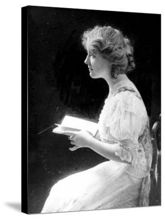 American Stage Actress and Director Antoinette Perry, 1910--Stretched Canvas Print