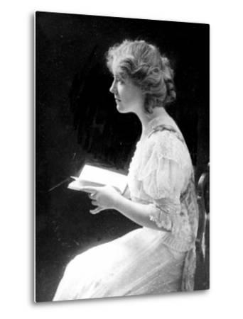 American Stage Actress and Director Antoinette Perry, 1910--Metal Print