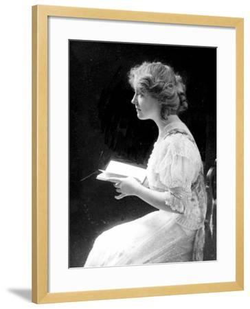 American Stage Actress and Director Antoinette Perry, 1910--Framed Photo