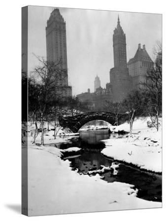 Central Park, New York City, 1945--Stretched Canvas Print