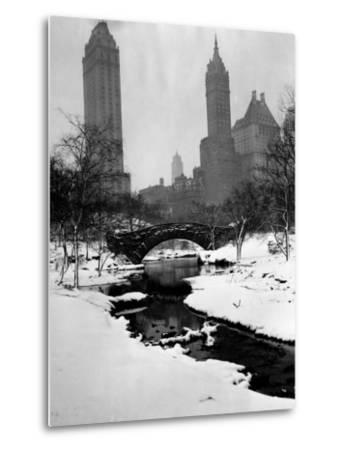 Central Park, New York City, 1945--Metal Print
