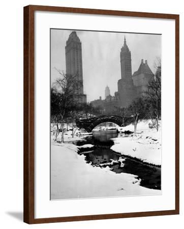 Central Park, New York City, 1945--Framed Photo