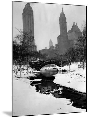 Central Park, New York City, 1945--Mounted Photo