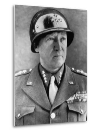 General George S. Patton Jr., U.S. Army General, 1940s--Metal Print