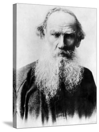 Leo Tolstoy, Russian Writer, Early 1900s--Stretched Canvas Print
