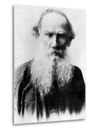 Leo Tolstoy, Russian Writer, Early 1900s--Metal Print
