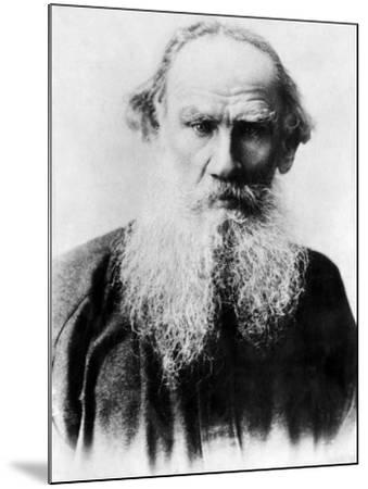 Leo Tolstoy, Russian Writer, Early 1900s--Mounted Photo