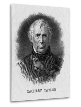 US President Zachary Taylor--Metal Print