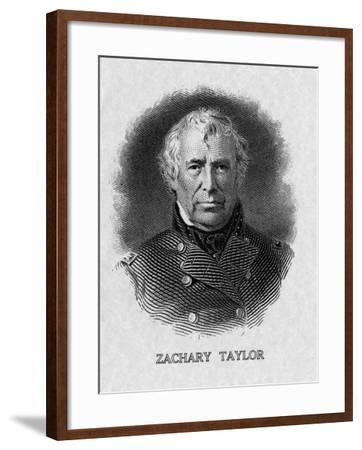 US President Zachary Taylor--Framed Photo