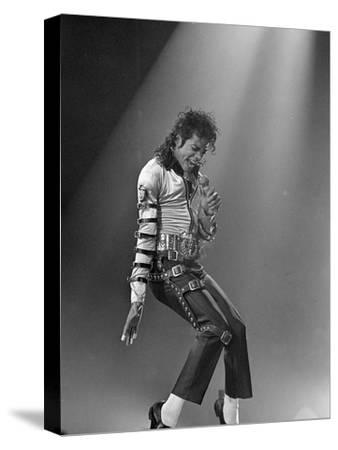 Michael Jackson--Stretched Canvas Print