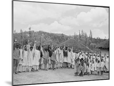 Ethiopia-Alfred Eisenstaedt-Mounted Photographic Print