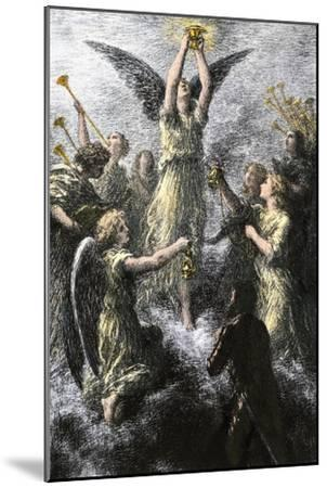 """Celebration of Angels in the Prelude to Wagner's """"Lohengrin""""--Mounted Giclee Print"""