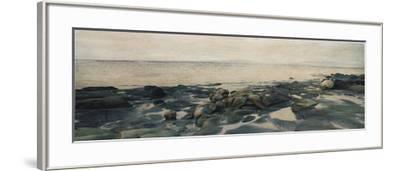 Rocky Shores II-Amy Melious-Framed Premium Giclee Print