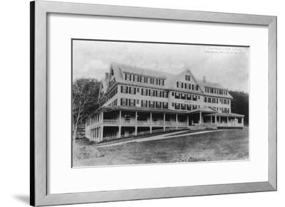 Jackson, New Hampshire - Exterior View of the Eagle Mountain House, White Mountains, c.1922-Lantern Press-Framed Art Print