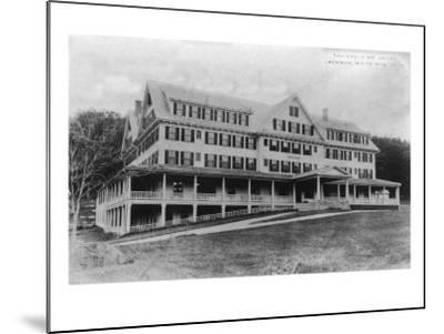 Jackson, New Hampshire - Exterior View of the Eagle Mountain House, White Mountains, c.1922-Lantern Press-Mounted Art Print