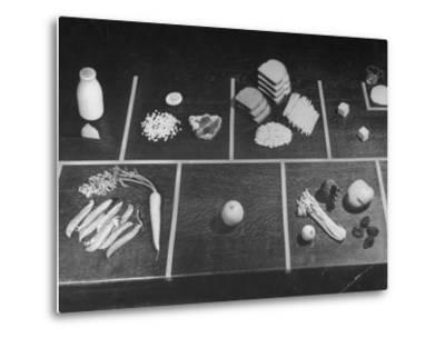 Rationings Distributed During the War-Nina Leen-Metal Print