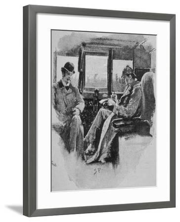 Adventures of Sherlock Holmes in the Strand Magazine, The Boscombe Valley Mystery--Framed Photographic Print
