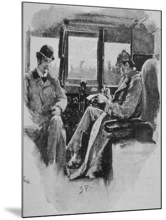 Adventures of Sherlock Holmes in the Strand Magazine, The Boscombe Valley Mystery--Mounted Photographic Print