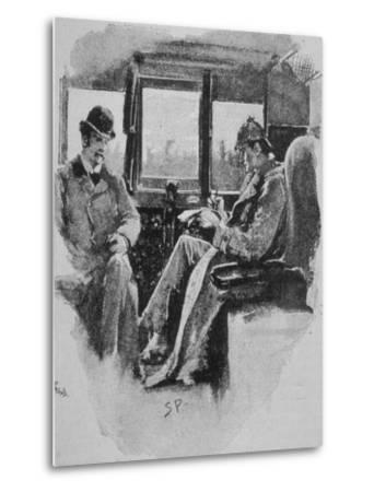 Adventures of Sherlock Holmes in the Strand Magazine, The Boscombe Valley Mystery--Metal Print