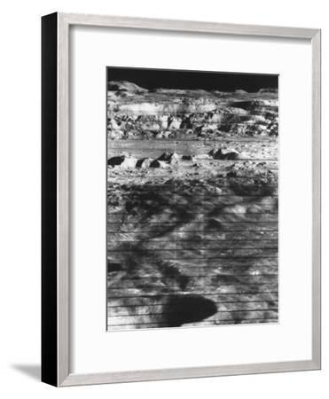 Moon's Surface Photographed from Lunar Orbiter Ii--Framed Photographic Print
