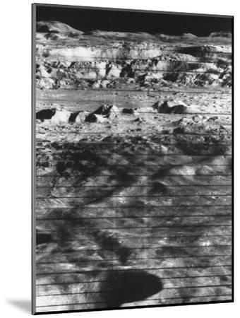 Moon's Surface Photographed from Lunar Orbiter Ii--Mounted Photographic Print