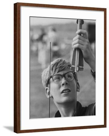 Charles Duelfer, Builder of Model Rocket at National Association of  Rocketry Photographic Print by | Art com