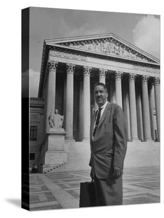 Thurgood Marshall--Stretched Canvas Print
