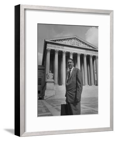 Thurgood Marshall--Framed Photographic Print