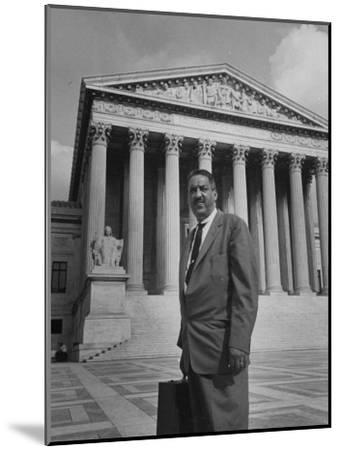 Thurgood Marshall--Mounted Photographic Print
