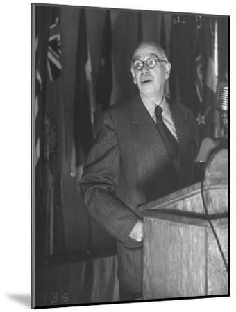 John Maynard Keynes During the Monetary Conf--Mounted Photographic Print