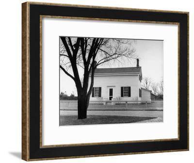 Auto Manufacture Owner Henry Ford's Home-Ralph Morse-Framed Photographic Print
