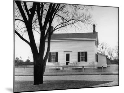 Auto Manufacture Owner Henry Ford's Home-Ralph Morse-Mounted Photographic Print