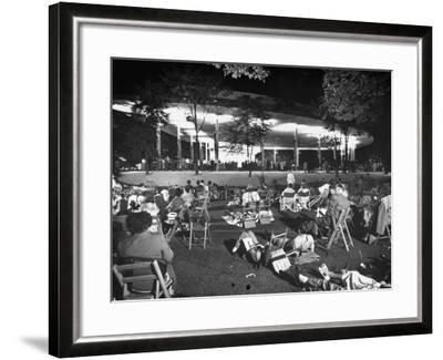 Outdoor Concert-Ralph Crane-Framed Photographic Print