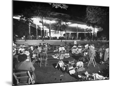 Outdoor Concert-Ralph Crane-Mounted Photographic Print