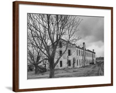 Last Remaining Original Building at the Louisiana State Penitentiary at  Angola Photographic Print by | Art com