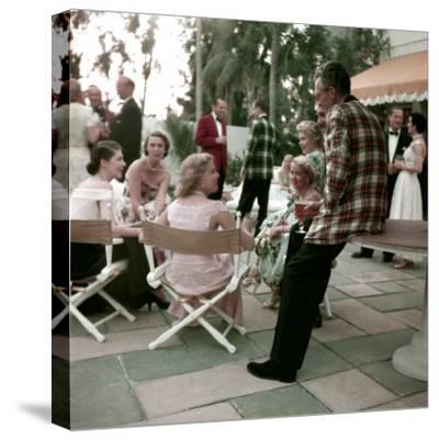 Plaid Dinner Jackets for Men-Nina Leen-Stretched Canvas Print