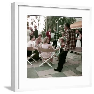Plaid Dinner Jackets for Men-Nina Leen-Framed Photographic Print