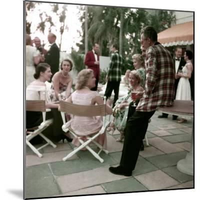 Plaid Dinner Jackets for Men-Nina Leen-Mounted Photographic Print