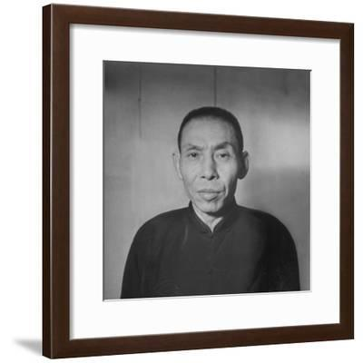 Chinese Gangster Tu Yueh-Sen--Framed Photographic Print