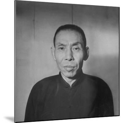 Chinese Gangster Tu Yueh-Sen--Mounted Photographic Print