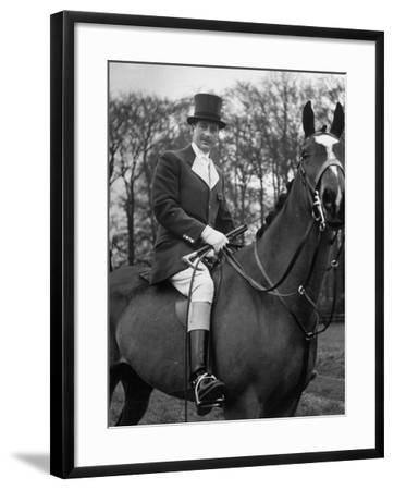 Fox Hunting, England--Framed Photographic Print