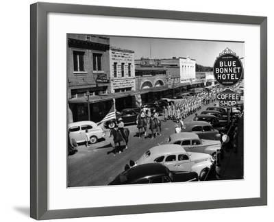 Rodeo Parade-Alfred Eisenstaedt-Framed Photographic Print