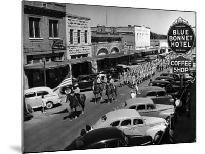 Rodeo Parade-Alfred Eisenstaedt-Mounted Photographic Print
