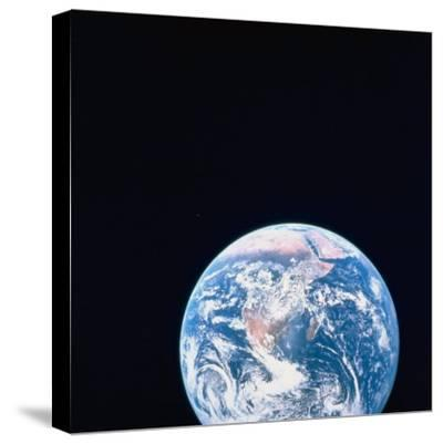 Earth Viewed from Deep Space--Stretched Canvas Print