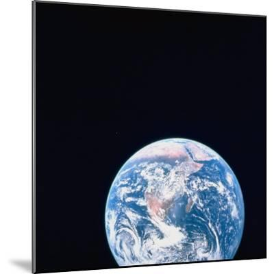 Earth Viewed from Deep Space--Mounted Photographic Print