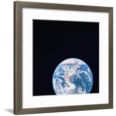 Earth Viewed from Deep Space--Framed Photographic Print