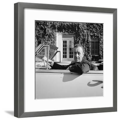 William Levitt, Builder Responsible for the Long Island Suburban Community Levittown--Framed Premium Photographic Print