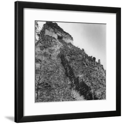 Some Tikal Ruins-Fritz Goro-Framed Photographic Print